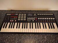 akai mpk49 mpk 49 midi keyboard controller
