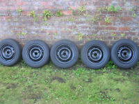 citroen saxo peugeot 106 wheels and tyres 3 stud