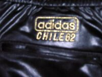 ADIDAS CHILE TRACKSUIT IN BLACK WETLOOK FABRIC