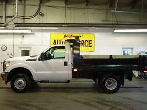 2015 Ford F-350 DRW 4WD With Dump Body