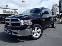 2013 Ram 1500 SLT-Hemi-SAT Radio-Rear IN Floor Storage-Crew CAB