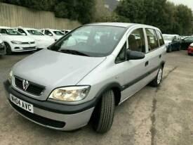 Vauxhall Zafira 1.6 life 20000 mileage