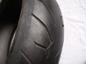 Motorcycle Tyre. Pirelli 200/50 ZR17. Fits ZX12R. 1300 B king. etc. For 6.0,6.25 & 6.5 Rims