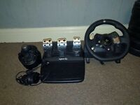 Xbox one/pc steering wheel