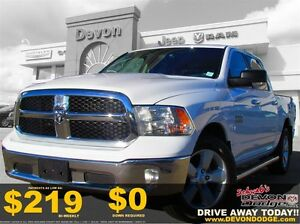 2013 Ram 1500 SLT CREW CAB // Accident Free