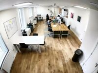 DESK SPACE to rent | Finnieston - THE HIDDEN LANE | Creative Studio / Office