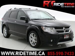 2015 Dodge Journey R/T AWD – Leather, Heated Seats and Steering