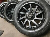 """20"""" Nissan Navara Mercedes x class Amg alloy wheels 6 x 114.3"""