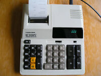 Adding machine Toshiba