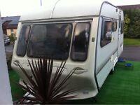 Coachman 5 berth caravan