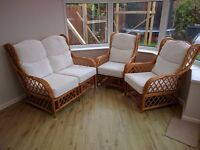 Conservatory furniture Great conditio two chairs one double