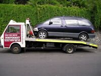 scrap cars away no delay !!! wanted all cars and vans !!! running or not we work 7days so call