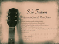 Solo Music Tuition/Piano/Guitar