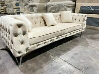 🌷🌷clearance stock must go🌷🌷brand new honey 3+2 seater sofa🌷🌷available now in stock🌷🌷