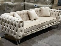 🌷🌷CLEARANCE STOCK MUST GO🌷🌷BRAND NEW HOMEY 3 SEATER SOFA🌷🌷AVAILABLE NOW🌷🌷