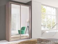 NEW 2 OR 3 DOOR SLIDING WARDROBE WITH FULL MIRRORs