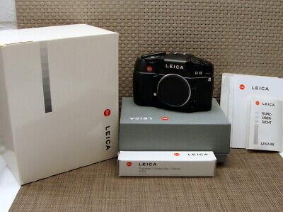 """Leica 10081 - Leitz Leica R8 Body/ Gehäuse Black finish """"Top Fullset"""" - OVP!"""