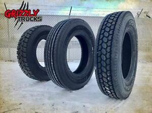 Commercial SEMI Tires !!! DRIVES, TRAILER, STEER!! THESE ARE THE BEST PRICES IN ALBERTA!! - WE WHOLESALE !!!