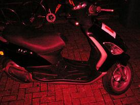 2012/62 Piaggio fly 50cc scooter