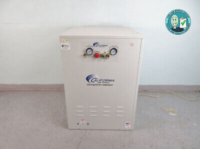 California Air Tools Air Compressor Sound Proof Cabinet W Warranty See Video