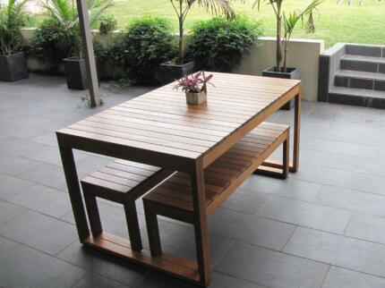 outdoor table setting can change size dining tables gumtree
