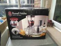 Russel Hobbs food processor and blender, suice maker