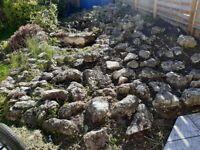 Large Quantity of Rockery Stones