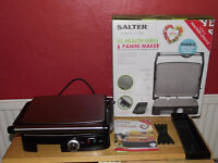 Salter XL health grill and Panini maker.
