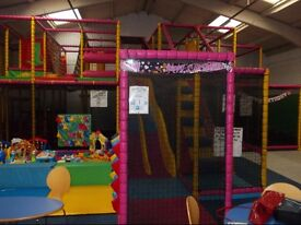 Children Indoor Soft Play Centre (Frame & Equipment only, not a business)
