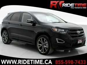 2016 Ford Edge Sport AWD - Pano Roof, NAV, Leather