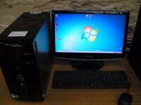 Dell Studio, PC Tower, Intel Core 2 Quad Q8300 @ 2.33 GHz, Windows 7 Pro 64 Bit