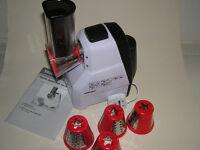 Electric Food Slicer Grater Processor