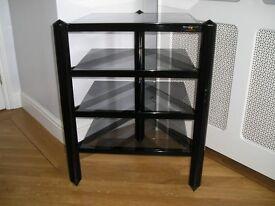Hi-Fi Equipment. Amplifier, Tape Deck, CD Deck and Tripod Stand