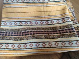 One vintage curtain 60s 70s nice bit of fabric