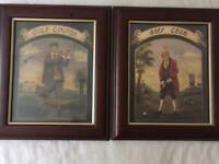 Pair of Framed Golfing Prints