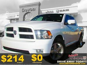 2012 Ram 1500 Sport: Hemi, Power seats, Crew Cab