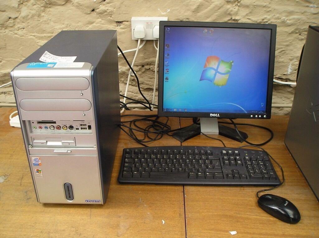 Advent T11 Pc Tower Intel Pentium 4 550 Ht 3 4 Ghz