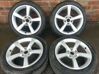 Audi A3 Set of Alloy Rims and Tyres (F6)