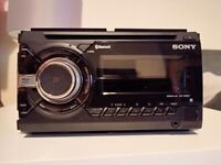 Sony Car Audio WX900BT Double DIN stereo with CD, Bluetooth and Variable Colour Illumination