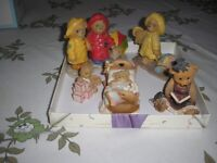 Collection of teddies and cherished teddies. All immaculate £20 the lot or can separate.