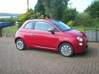 Fiat, 500, Hatchback, 2009, One Owner, 38,600 miles