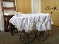 Old-fashioned doll's pram