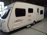 2009 Lunar Ultima 6 Berth Caravan for sale (with extras)