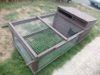 Chicken Coop and Run in ex condition