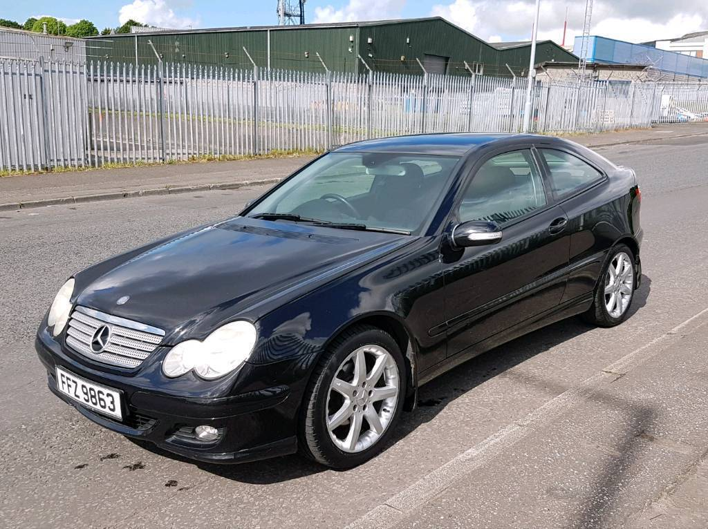 2005 mercedes c class coupe c220 cdi se in donegall road belfast gumtree. Black Bedroom Furniture Sets. Home Design Ideas