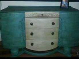 Antique upcycled sideboard/dresser