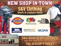 S & V Clothing, Work And Leisure Wear