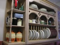 Kitchen wall mounted display/storage unit