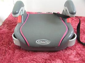 Graco booster seat, - ideal spare booster for the Grandparents
