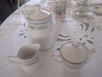 Hadleigh fine porcelain tea set.